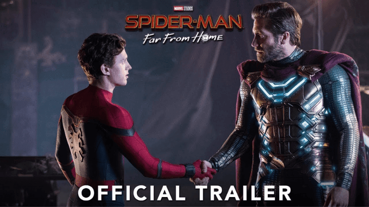 Spiderman Far From Home Torrent Magnet Full Movie Download BluRay 720p Hd